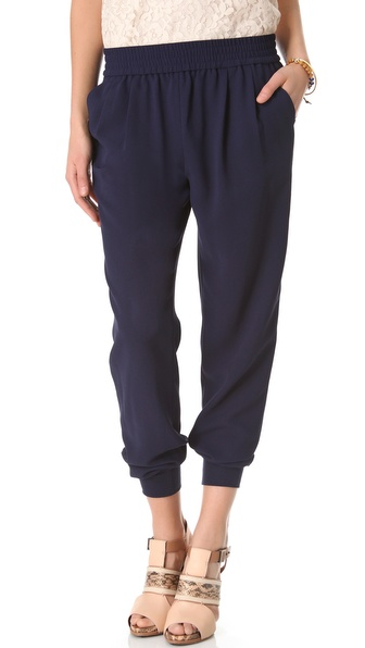 JOIE BANDED ANKLE PANTS
