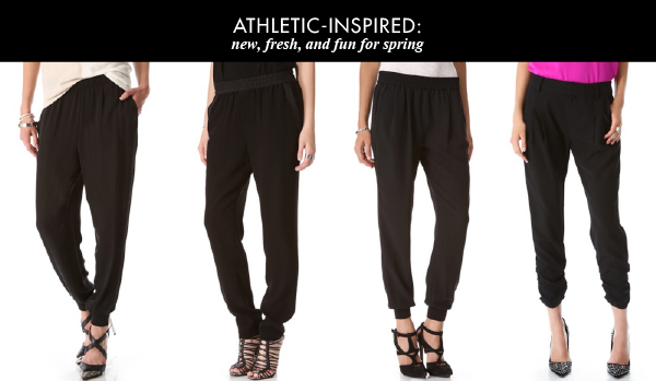 Spring Trends: Athletic-Inspired