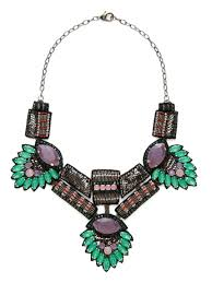 Deepa Gurnani Bib Necklace