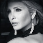 Ivanka Trump in Tassel Earrings