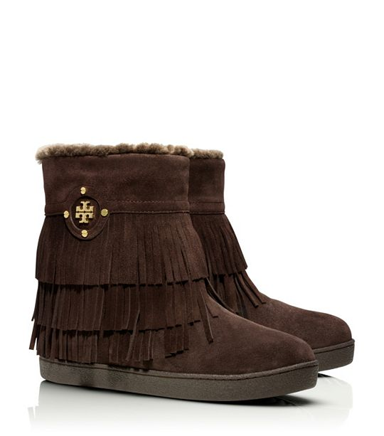 Tory Burch Fringe Bootie