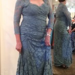FEMAP Supporter Dolores Scott in Olvi's stretch French Lace.