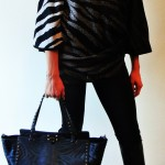 Animal Print Top and Valentino Zebra Print Handbag