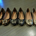 Tory Burch animal print flats