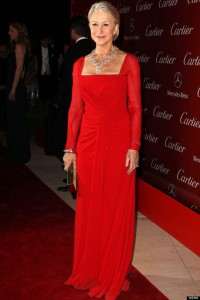 Helen Mirren in Escada