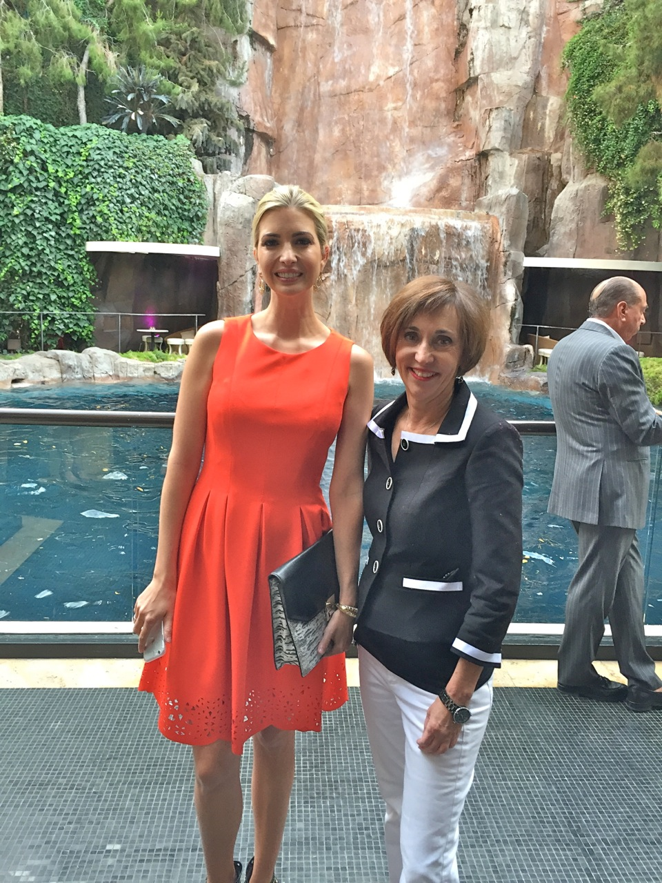 Ivanka Trump and Nan
