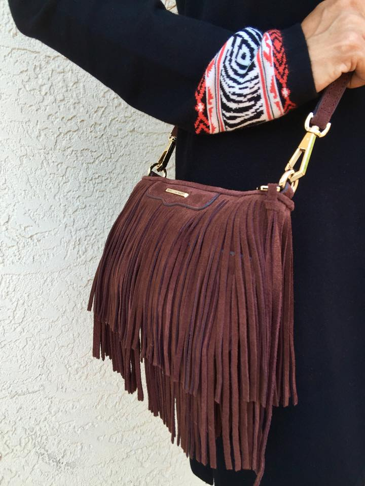 Fringe crossbody bag- - Photos by Eduardo Munoz