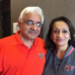UTEP supporters Danny and Lavina Vaswani