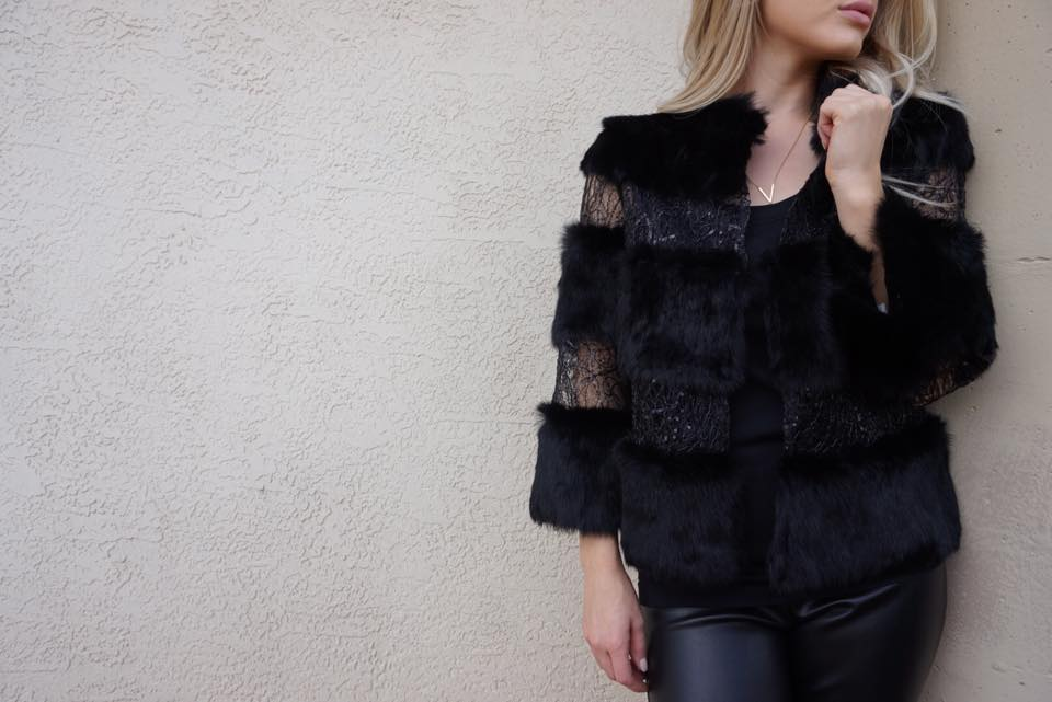 Fur with illusion detail