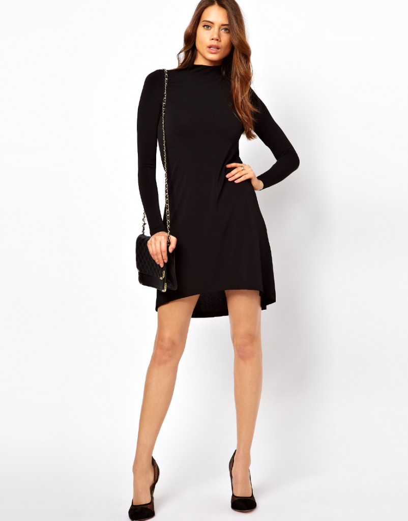 Black Dress-The-Return-of-High-Low-Hemlines-6